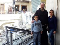 rebuilding homes in aleppo syria