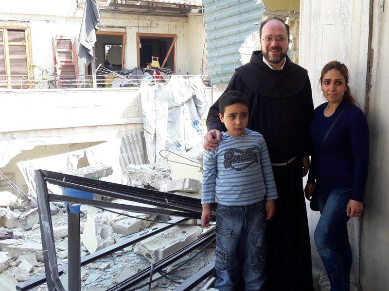 rebuilding homes in aleppo syria