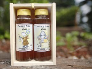 Honey made by happy bees