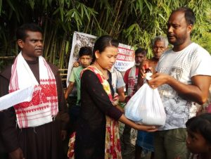 Franciscan-Flood-relief-in-Assam-India