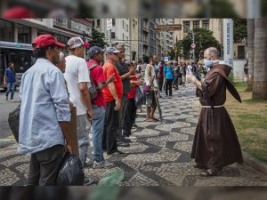 Feeding-the-poor, Hunger-in-Brazil, Hunger-in-Sao-Paulo, Franciscan-relief-in-Brazil