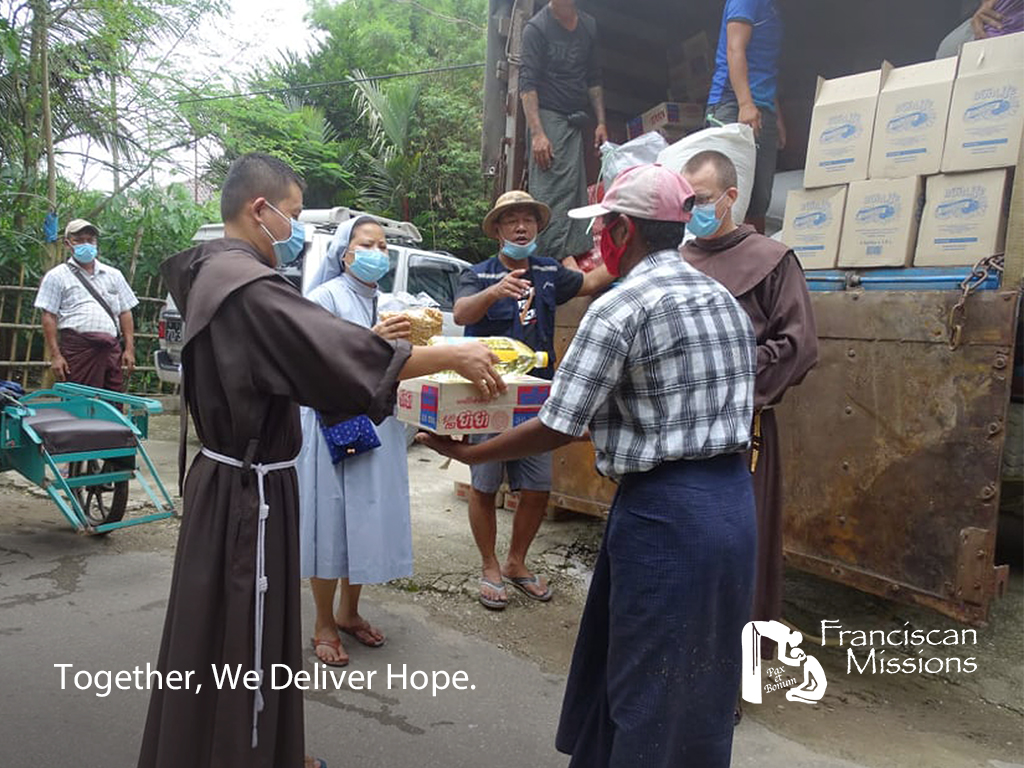 Bring-Hope-This-Thanksgiving, Franciscan-Emergency-Relief, Franciscan-missionaries, Myanmar-relief,