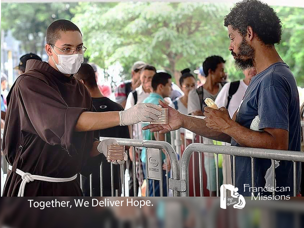 Franciscan missions, Franciscan missionaries, feeding the poor in Brazil