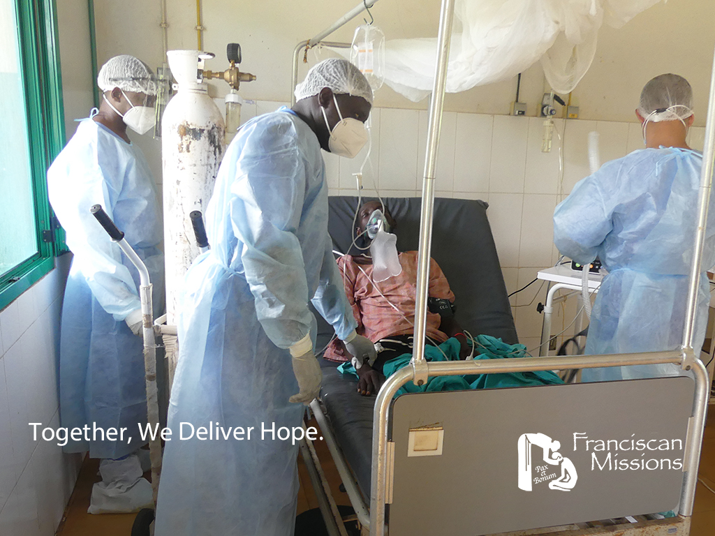 today-we-can-save-a-life, Cumura Hospital, Franciscan Missions, Guinea-Bissau, Africa, COVID-19,