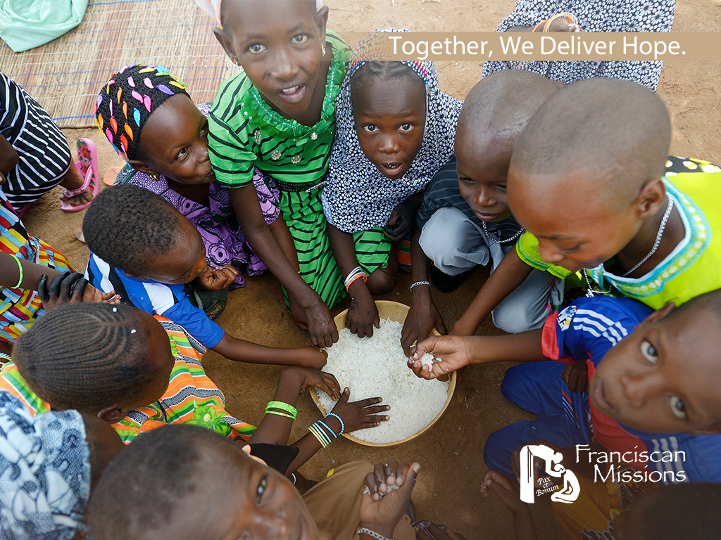Feed the needy, Franciscan Missions, hunger relief, feed the needy,